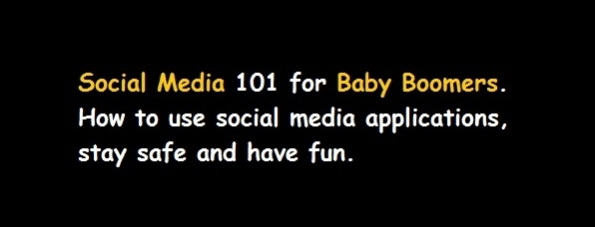 social media for baby bommers